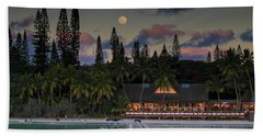 South Pacific Moonrise Beach Towel