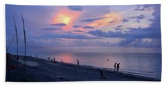 Southeast Side Of A Sunset Beach Towel