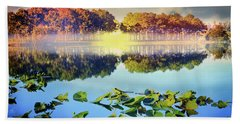 Beach Towel featuring the photograph Southern Beauty by Debra and Dave Vanderlaan