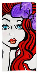 Sharlene   Southern Bell Beach Towel