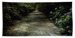 Beach Towel featuring the photograph Southern Blue by Jessica Brawley