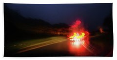 Southern Lights Beach Towel