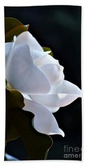 Southern Magnolia Profile Beach Towel