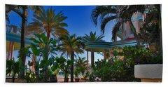 Southernmost Lush Garden In Key West Beach Sheet
