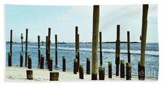 Southport Beach Weathered Wood Beach Sheet