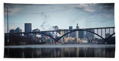 Southside And The High Bridge Beach Towel