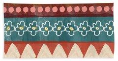 Southwest 3- Art By Linda Woods Beach Towel
