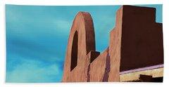 Southwest Architecture Beach Towel by Anne Rodkin