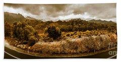 Southwest National Park Tasmania Beach Towel