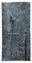 Southworth Windmill Snow Bound Beach Sheet