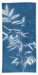 Spa Bamboo 3- Art By Linda Woods Beach Towel