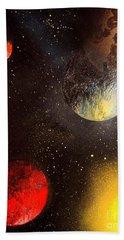 Space Balls Beach Sheet