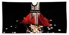 Space Craft Beach Towel by Jorgo Photography - Wall Art Gallery