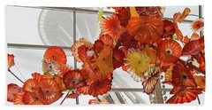 Space Needle And Chihuly Beach Towel