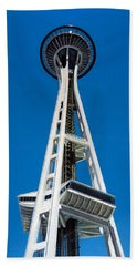 Space Needle Beach Towel