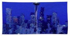 Space Needle, Seattle Beach Towel
