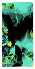Space Vines Beach Towel