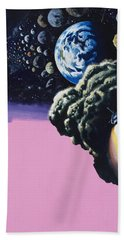 Space Beach Towel by Wilf Hardy