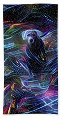 Spacey Lacy Beach Towel