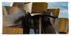 The Guggenheim Museum Spain Bilbao  Beach Towel