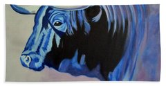 Spanish Bull Beach Towel