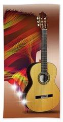 Spanish Guitar Beach Sheet