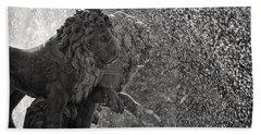 Spanish Lions Beach Towel