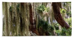 Spanish Moss Cascade Beach Towel