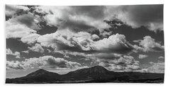 Spanish Peaks, Summer Monsoons Beach Towel