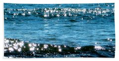 Sparkle Waves  Beach Sheet