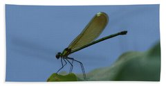 Sparkling Jewelwing #2 Beach Towel