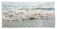 Beach Sheet featuring the photograph Sparkly Surf by Cindy Garber Iverson