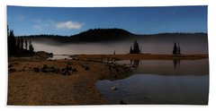 Beach Towel featuring the photograph Sparks Lake At Dawn by Cat Connor
