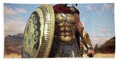 Spartan Hoplite - 02 Beach Towel