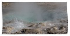 Spasmodic Geyser's Bubblers Beach Towel