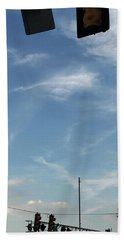 Special Day-hand From Heaven  Beach Towel