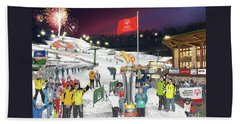Special Olympics Winter Games Beach Towel