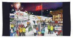 Special Olympics Winter Games Beach Sheet