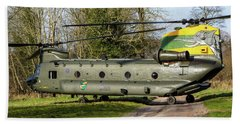Special Tail Chinook 27 Squadron Beach Towel by Ken Brannen