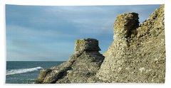 Spectacular Eroded Cliffs  Beach Sheet
