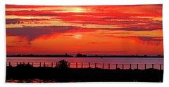 Spectacular Sunset Beach Towel