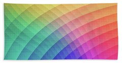 Spectrum Bomb Fruity Fresh Hdr Rainbow Colorful Experimental Pattern Beach Towel