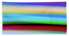Speed Of Lights Beach Towel
