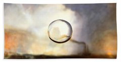 Sphere I Turner Beach Towel by David Bridburg