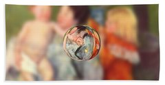 Sphere II Cassatt Beach Towel by David Bridburg