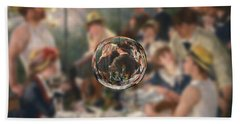 Sphere 4 Renoir Beach Towel by David Bridburg