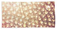 Spheres Of Light Beach Towel
