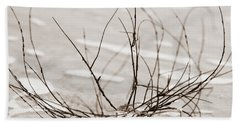 Spider Driftwood Beach Towel