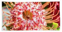 Spider Flower Beach Towel