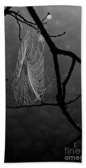 Spider Web Beach Towel